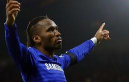 """Drogba xác nhận chia tay Chelsea nhưng chưa """"về vườn"""""""