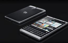BlackBerry âm thầm tung ra phiên bản Passport màu bạc
