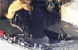 Trực thăng quân sự Mỹ rơi ngoài biển Nhật Bản
