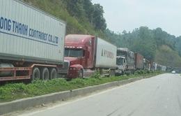 Lại ùn ứ nông sản tại cửa khẩu Tân Thanh