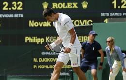 """Djokovic """"mở hàng"""" thuận lợi tại Wimbledon 2015"""