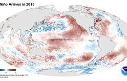 Năm 2015: Hiện tượng El Nino dữ dội nhất trong lịch sử