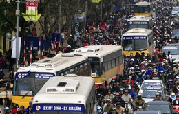 Hà Nội giảm tần suất một số tuyến xe bus để hạn chế tắc đường