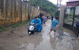 Quảng Ninh: Nhiều vùng ngập sâu, bị cô lập do mưa lũ