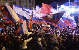 Những dấu mốc chính của sự kiện bán đảo Crimea sáp nhập vào Nga