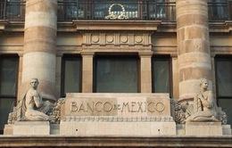 Ngân hàng Trung ương Mexico tăng lãi suất cơ bản thêm 0,25%