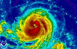 Bão Goni rất mạnh đang tiến gần về phía Philippines