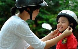 Kêu gọi hỗ trợ 25.000 mũ bảo hiểm cho trẻ em