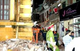 Bố trí 40 căn chung cư cho các hộ dân tại khu nhà bị sập