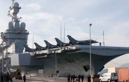 Pháp lần đầu không kích IS tại Iraq từ tàu Charles de Gaulle