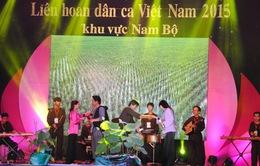 15 đoàn tham gia chung kết toàn quốc Liên hoan dân ca Việt Nam 2015