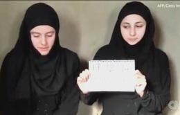 Chấn động clip kêu cứu của 2 cô gái bị IS bắt làm con tin