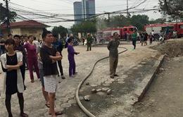 Hà Nội: Cháy nhà vì đun nước bằng ấm điện