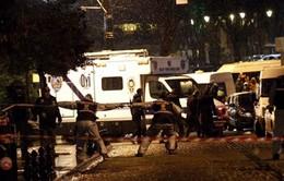Hiện trường vụ đánh bom liều chết tại Thổ Nhĩ Kỳ
