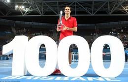 Những cột mốc đáng nhớ trong sự nghiệp của Roger Federer