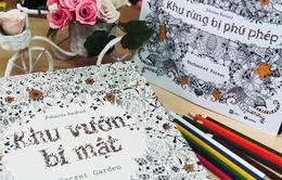Sách tô màu cho người lớn gây sốt ở Việt Nam