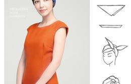 20 cách thắt khăn mùa thu đẹp, điệu, sang