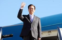 Thủ tướng lên đường dự Hội nghị Cấp cao ASEAN 26