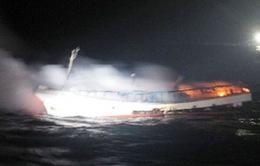 Chưa có tin tức về 2 thuyền viên Việt Nam mất tích ở Hàn Quốc