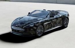 """Vanquish """"rằn ri"""" - Sự kết hợp giữa Aston Martin và thời trang Valentino"""