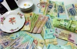 Vĩnh Phúc: Vây bắt sới bạc tiền tỷ, thu giữnhiều vũ khí