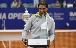 Nadal có danh hiệu đầu tiên sau 9 tháng