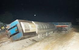 Nhiều chuyến tàu bị chậmdo ảnh hưởng tai nạn tàu SE5