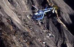Tìm thấy 2.800 mảnh thi thể vụ rơi máy bay Germanwings