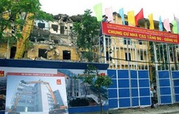 Tháo gỡ vướng mắc dự án cải tạo chung cư B6 Giảng Võ