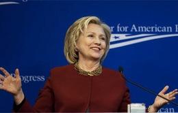 Bà Hillary Clinton tuyên bố tranh cử Tổng thống Mỹ