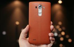 LG G4 chính thức ra mắt với thiết kế cong và ốp lưng da cao cấp