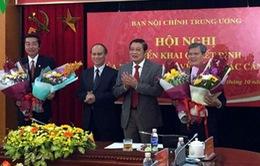 Ban Nội chính Trung ương có 2 Phó Trưởng ban mới