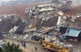 Lở đất ở Trung Quốc: Vẫn còn hơn 80 người mắc kẹt trong đống đổ nát