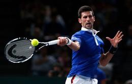 Paribas Masters 2015: Djokovic toát mồ hôi, Nishikori bỏ cuộc