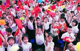TP.HCM: Hơn 1,5 triệu học sinh hân hoan đón chào năm học mới