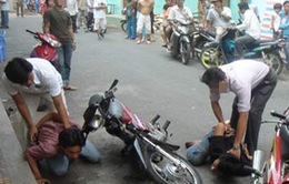 TP.HCM: Bắt băng nhóm cướp giật táo tợn trên đường phố