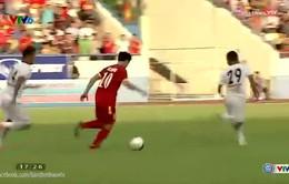 Đi bóng từ giữa sân, Công Phượng lập siêu phẩm vào lưới U23 Myanmar