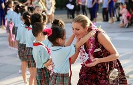 Hoa hậu Thế giới 2015 từng đến Việt Nam