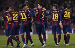 Barcelona 5 - 0 Elche: Dấu ấn tam tấu Neymar – Messi – Suarez