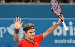 Brisbane International 2015: Danh hiệu đầu tiên cho Roger Federer?