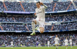 Siêu phẩm của Gareth Bale đẹp nhất vòng 18 La Liga