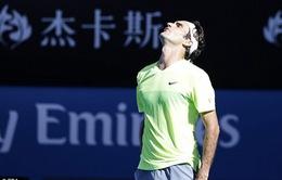 Úc mở rộng 2015: Roger Federer thua sốc tại vòng 3