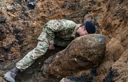 Anh: Phát hiện quả bom nặng gần nửa tấn dưới lòng London
