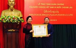 Tăng cường hợp tác giữa Hội LHPN hai nước Việt Nam - Lào
