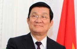 Chủ tịch nước tiếp xúc song phương bên lề Hội nghị APEC