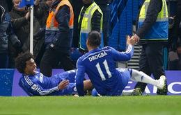 Chelsea 1-0 Everton: Wilian lập đại công phút 89