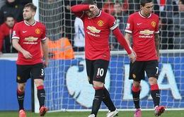 Swansea 2-1 Man Utd: Quỷ đỏ nguy cơ bật bãi khỏi top 4