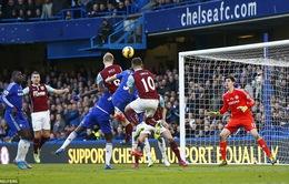 Chelsea 1-1 Burnley: Mất Matic, Chelsea bị cầm hòa đáng tiếc