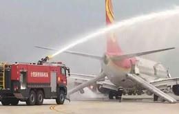 Trung Quốc: Máy bay hạ cánh khẩn vì cháy khoang hành lý