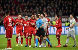 """B.Leverkusen 1-0 Atletico Madrid: Thầy trò Simeone """"lấm lưng"""" trên đất Đức"""